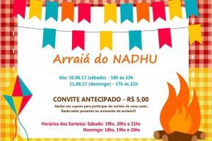 Convite: Arraiá do NADHU 2017