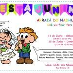 Está chegando o grande dia, veja! Venha se divertir e se deliciar com a nossa festa junina. Dias 11 e 12 de Junho.