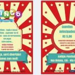 Convite: Bingo Beneficente no Colégio Plenitude em 09/10/2016.